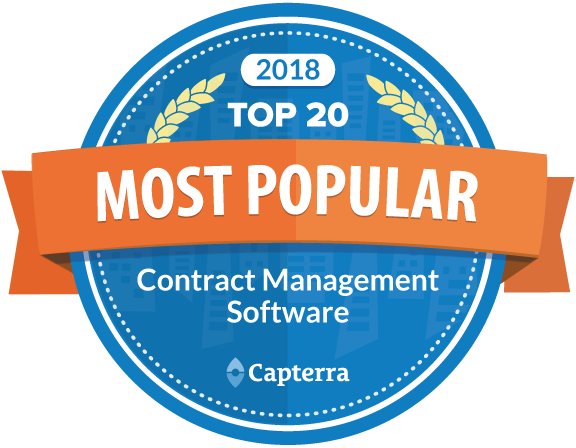 Capterra Contract Management Winner